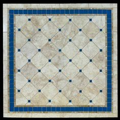 Azul stone and glass mosaic chip tables