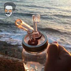 #dealiebuddy #quartz getting shown off during the #goldenhour. #waves…