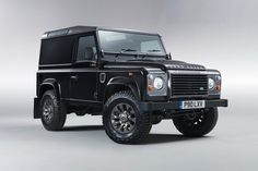 I didn't know LR still made this one. Love the timeless Defender... THE ORIGINAL SUV! Land Rover introduces the LXV Special Edition of its Defender model for the 65th anniversary of the SUV.