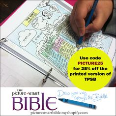 17 best the picture smart bible images on pinterest bible biblia use coupon code picture25 for 25 off the printed version of tpsb homeschool fandeluxe Images