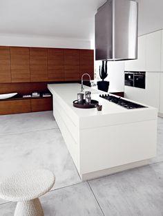 Fitted kitchen LUCREZIA by CESAR ARREDAMENTI | #design Gian Vittorio Plazzogna