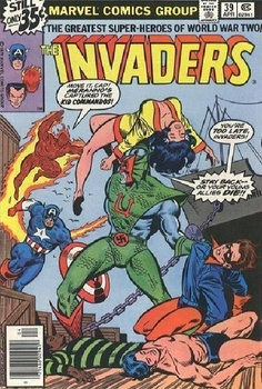 The Invaders Comic   The Invaders 1 (Marvel) - ComicBookRealm.com