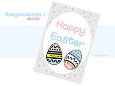 Happy Easter #Imprimibles / #printables