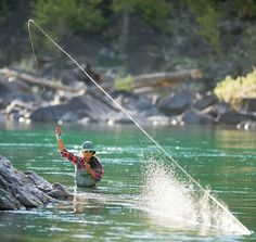 Simple fly-fishing with Patagonia founder Yvon Chouinard