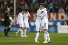 Sergio Ramos and Gareth Bale; Atletico Madrid 2 Real Madrid 2 (2/3/2014)