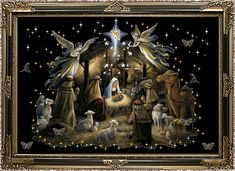 Today on Speechless - Comics by Len Borozinski Christmas Jesus, Christmas Blessings, Merry Little Christmas, Christmas Animated Gif, God Bless Us All, Baby Jesus, Beautiful Pictures, December, Blessed