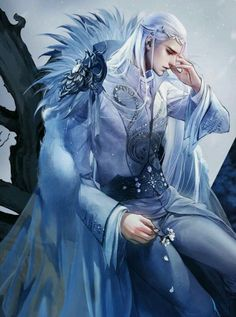 Almithara in 2019 gorgeous elegant males anime art, fantasy Fantasy Male, Fantasy Warrior, Anime Fantasy, Fantasy World, Elves Fantasy, Handsome Anime Guys, Hot Anime Guys, Fantasy Artwork, Character Inspiration
