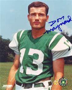 Don Maynard - New York Jets - Hall of Famer 1987