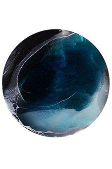 Megan Weston - Glacier Island 4, 30cm diameter SOLD