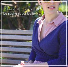 Cache-coeur Elmira - Seamwork Magazine - Maille Agnès b