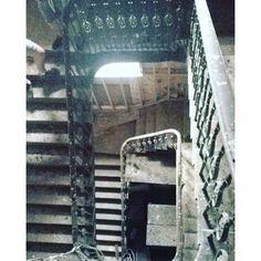 Nannau #nannau #hall #haunted #hauntedhouse #spiral #staircase #posh #big #scary #ghosts #dusty #adventures #fun #friends #northwales - bethanieroberts Big Scary, Spiral Staircase, North Wales, Ghosts, Adventure, Friends, Fun, Travel, Amigos
