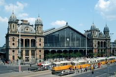Gustave Eiffel: Budapest-Nyugati Railway Terminal