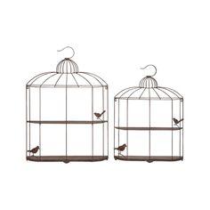 birdcage shelving