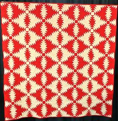 And yet another style of Pineapple Quilt.