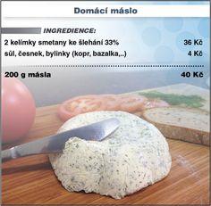 Levně a chutně s Ladislavem Hruškou - Domácí máslo