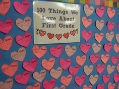 Free 100 Things We Love About First Grade & More!