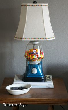gumball machine lamp