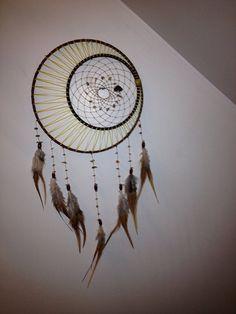 Sun moon and stars dream catcher by Dreams4Ashlyn on Etsy
