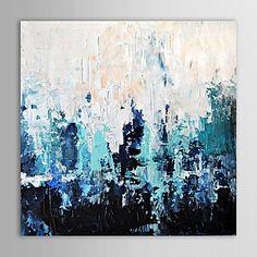 pintura a óleo Littlewoods abstratos com telas pintadas à mão moldura esticada – BRL R$ 163,87