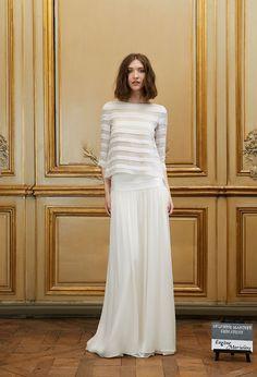 Jupe de mariée Eugène & Marinière - Sélection Couture 2016 - Robes de mariée - Delphine Manivet