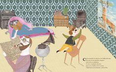 """Selected illustration from my book """"L'Elna i la capsa de llumins"""""""