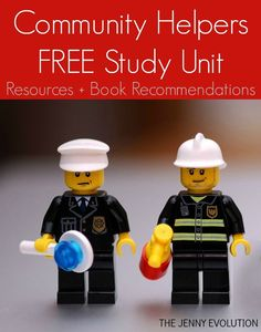 Community Helpers Study Unit FREE Resources + Books Recommendations