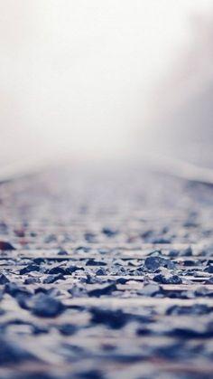 Chaos Rock Railway Bokeh Blur #iPhone #6 #plus #wallpaper