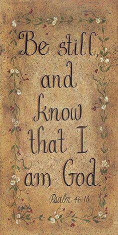 Psalm 46:10 www.fivefoldministryireland.com