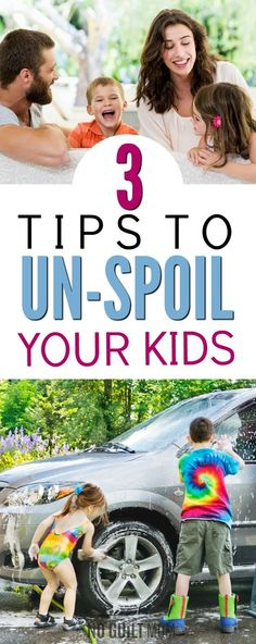 WOW! I'm so nice to my kids and yet they act so ungrateful! These parenting tips are exactly what I needed. I can see how this will un-spoil my children and it seems pretty easy and simple to do. I really needed this advice!