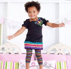 Sweet little girl fashion