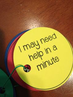 Evaluations & #Self-Assessment paper circles to help #children tell you where they are in their learning process.  Easy to make & a simple teaching tool for 4th grade learners.   Visit http://ateacherswonderland.blogspot.com/2012/09/evaluations.html?m=1