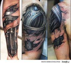 tatuaże biomechaniczne