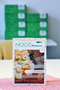 Endlich ist es da - das Nooz Magazin Dezember! Darin dürften leckere Rezepte, spannende Berichte, tolle DIY-Anleitungen und hilfreiche Backtipps natürlich nicht fehlen.