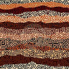 Etnic striked pattern