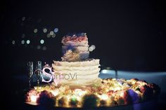ruffle #weddingcake by #sposiamovi #pink #flowers #brides #weddinginitaly #ravellowedding #sposiamoviweddings www.sposiamovi.it/en