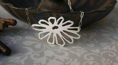 Handmade Jewellery - Gerbera Daisy Pendant