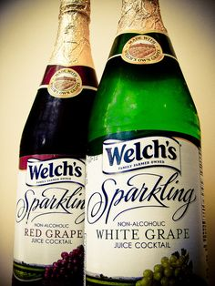 i love welch's sparkling grape juice! so many memories!