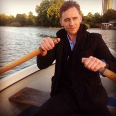He looks dashing rowing you across the lake at sunset. | 15 Convincing Reasons Tom Hiddleston Is An Actual Disney Prince