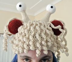 Flying Spaghetti Monster Crochet Hat - Pattern Only
