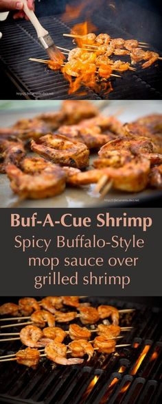 Buf-A-Cue Shrimp | Community Post: 17 WAYS TO EAT FOOD ON A STICK