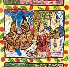 Write-up on Traditions Documented - Ramayana in pata-Chitra of West Bengal