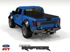 Lego Technic Truck, Lego Truck, Lego Cars, Technique Lego, Construction Lego, Lego Pictures, Lego Speed Champions, Cool Lego Creations, Svt Raptor