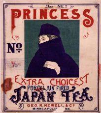 浮世絵と西洋の出合い 戦前の輸出茶ラベルの魅力  アート&レビュー NIKKEI STYLE
