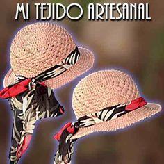 sombreros tejidos al crochet