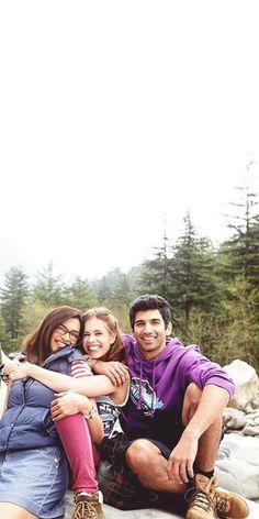 Deepika Padukone Kalki Koechlin and Aditya Roy Kapur Kalki Koechlin, Roy Kapoor, Dipika Padukone, Crazy Fans, Acting Skills, Indian Movies, Bollywood Celebrities, Dimples, Movie Quotes