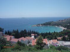 The view from Villa Residence Lantoni, Mlini, Croatia Visit Croatia, Villa, Mountains, Nature, Travel, Naturaleza, Trips, Traveling, Nature Illustration