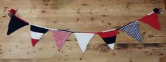 Patriotic Pennant - knit by Little England