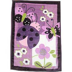 Lambs & Ivy -Luv Bugs Hi-Pile Blanket