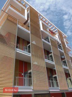 Sidelsrl, recupero energetico con serramenti in legno-alluminio. Milano.  #sidelsrl #milano #recuperoenergetico #palazzo #finestre