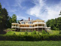 Rifton Estate Rental: Heartsease - National Registry, Historic Hudson River Mansion | HomeAway
